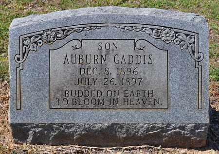 GADDIS, AUBURN - Sabine County, Louisiana   AUBURN GADDIS - Louisiana Gravestone Photos