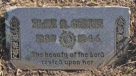 GADDIS, ALMA CHRISTINE - Sabine County, Louisiana | ALMA CHRISTINE GADDIS - Louisiana Gravestone Photos