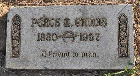 GADDIS, PEACE MADISON - Sabine County, Louisiana | PEACE MADISON GADDIS - Louisiana Gravestone Photos