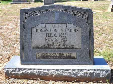 GADDIS, THOMAS CONLEY - Sabine County, Louisiana | THOMAS CONLEY GADDIS - Louisiana Gravestone Photos