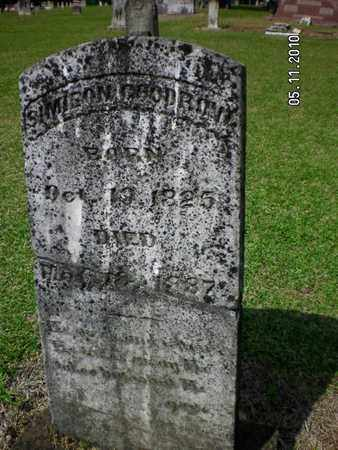 GOODROW, SIMISON - Sabine County, Louisiana   SIMISON GOODROW - Louisiana Gravestone Photos