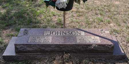 JOHNSON, AUDLEY C - Sabine County, Louisiana | AUDLEY C JOHNSON - Louisiana Gravestone Photos