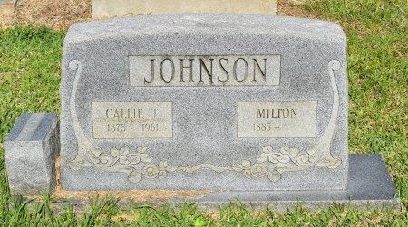 JOHNSON, CALLIE T - Sabine County, Louisiana | CALLIE T JOHNSON - Louisiana Gravestone Photos