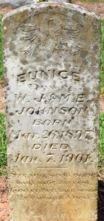 JOHNSON, EUNICE - Sabine County, Louisiana | EUNICE JOHNSON - Louisiana Gravestone Photos