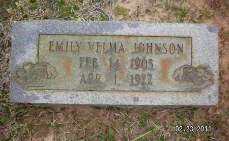 JOHNSON, EMILY VELMA - Sabine County, Louisiana | EMILY VELMA JOHNSON - Louisiana Gravestone Photos