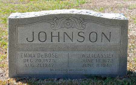 JOHNSON, EMMA - Sabine County, Louisiana | EMMA JOHNSON - Louisiana Gravestone Photos