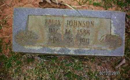 JOHNSON, FELIX - Sabine County, Louisiana | FELIX JOHNSON - Louisiana Gravestone Photos