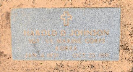 JOHNSON, HAROLD DOUGLAS (VETERAN KOR) - Sabine County, Louisiana | HAROLD DOUGLAS (VETERAN KOR) JOHNSON - Louisiana Gravestone Photos