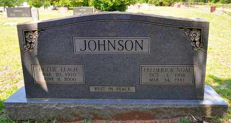 JOHNSON, FREDERICK NOAL - Sabine County, Louisiana | FREDERICK NOAL JOHNSON - Louisiana Gravestone Photos