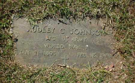 JOHNSON, AUDLEY C (VETERAN WWI) - Sabine County, Louisiana | AUDLEY C (VETERAN WWI) JOHNSON - Louisiana Gravestone Photos