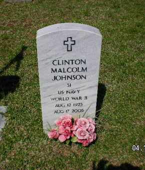 JOHNSON, CLINTON MALCOLM (VETERANWWII) - Sabine County, Louisiana | CLINTON MALCOLM (VETERANWWII) JOHNSON - Louisiana Gravestone Photos