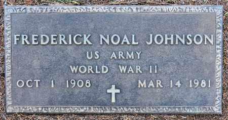 JOHNSON, FREDERICK NOAL (VETERAN WWII) - Sabine County, Louisiana | FREDERICK NOAL (VETERAN WWII) JOHNSON - Louisiana Gravestone Photos