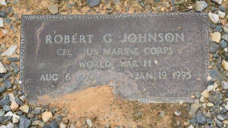 JOHNSON, ROBERT GLYNN (VETERAN WWII) - Sabine County, Louisiana | ROBERT GLYNN (VETERAN WWII) JOHNSON - Louisiana Gravestone Photos