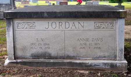 JORDAN, S V - Sabine County, Louisiana | S V JORDAN - Louisiana Gravestone Photos