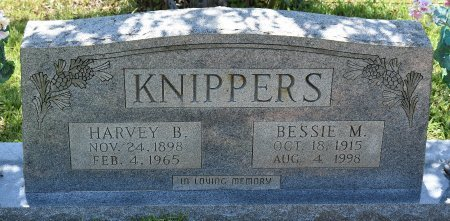 KNIPPERS, BESSIE M - Sabine County, Louisiana | BESSIE M KNIPPERS - Louisiana Gravestone Photos