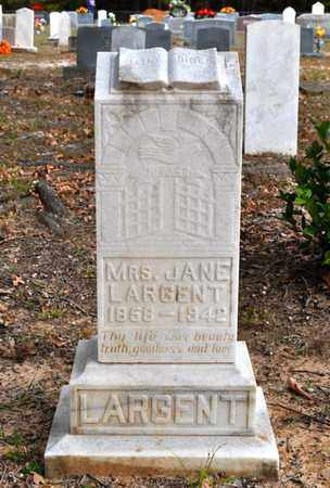 TYLER LARGENT, JANE - Sabine County, Louisiana   JANE TYLER LARGENT - Louisiana Gravestone Photos