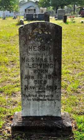 LEWING, HESSIE - Sabine County, Louisiana | HESSIE LEWING - Louisiana Gravestone Photos