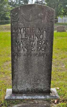 LEWING, MYRTIE MAE - Sabine County, Louisiana | MYRTIE MAE LEWING - Louisiana Gravestone Photos