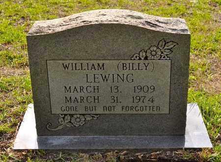 LEWING, WILLIAM BILLY - Sabine County, Louisiana | WILLIAM BILLY LEWING - Louisiana Gravestone Photos