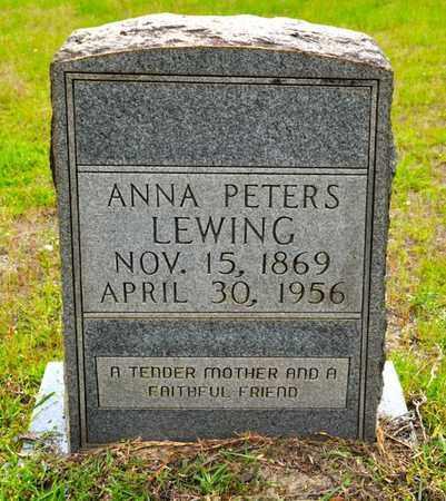 LEWINNG, ANNA - Sabine County, Louisiana   ANNA LEWINNG - Louisiana Gravestone Photos
