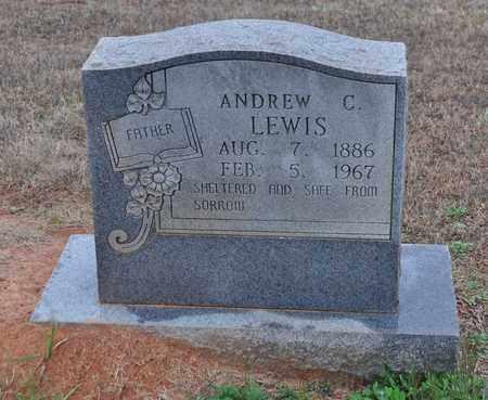 LEWIS, ANDREW C - Sabine County, Louisiana | ANDREW C LEWIS - Louisiana Gravestone Photos