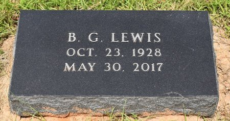 LEWIS, B G - Sabine County, Louisiana | B G LEWIS - Louisiana Gravestone Photos