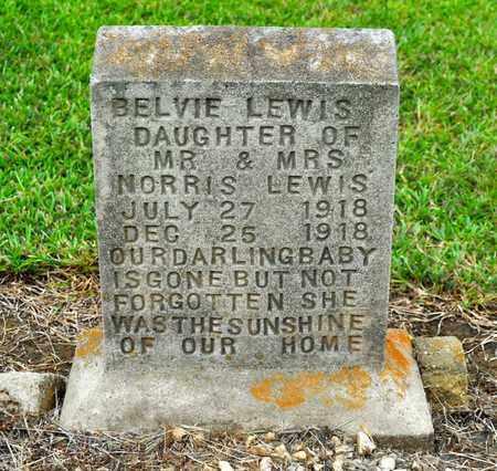 LEWIS, BELVIE - Sabine County, Louisiana   BELVIE LEWIS - Louisiana Gravestone Photos