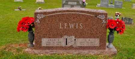 LEWIS, LILLIE E - Sabine County, Louisiana | LILLIE E LEWIS - Louisiana Gravestone Photos