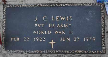 LEWIS, J C (VETERAN WWII) - Sabine County, Louisiana   J C (VETERAN WWII) LEWIS - Louisiana Gravestone Photos