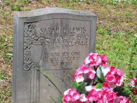 LEWIS, SARAH ELIZABETH - Sabine County, Louisiana | SARAH ELIZABETH LEWIS - Louisiana Gravestone Photos