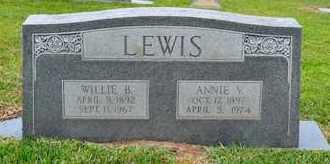 LEWIS, ANNIE VIOLA - Sabine County, Louisiana   ANNIE VIOLA LEWIS - Louisiana Gravestone Photos