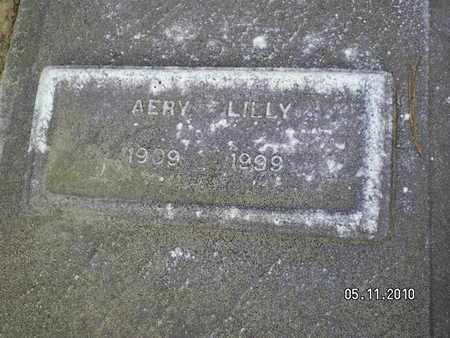 LILLY, AERY - Sabine County, Louisiana | AERY LILLY - Louisiana Gravestone Photos