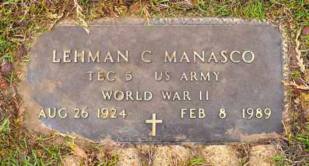 MANASCO, LEHMAN (VETERAN WWII) - Sabine County, Louisiana   LEHMAN (VETERAN WWII) MANASCO - Louisiana Gravestone Photos