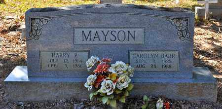 BARR MAYSON, CAROLYN - Sabine County, Louisiana | CAROLYN BARR MAYSON - Louisiana Gravestone Photos