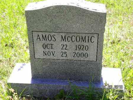 MCCOMIC, AMOS - Sabine County, Louisiana | AMOS MCCOMIC - Louisiana Gravestone Photos