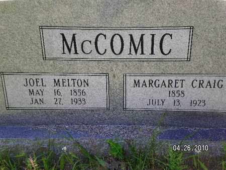MCCOMIC, MARGARET - Sabine County, Louisiana | MARGARET MCCOMIC - Louisiana Gravestone Photos