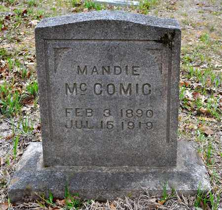 MCCOMIC, MANDIE - Sabine County, Louisiana | MANDIE MCCOMIC - Louisiana Gravestone Photos