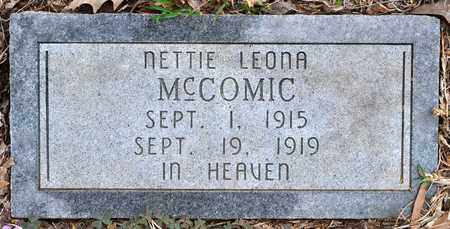 MCCOMIC, NETTIE LEONA - Sabine County, Louisiana | NETTIE LEONA MCCOMIC - Louisiana Gravestone Photos