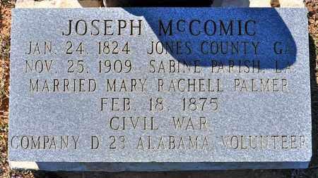 MCCOMIC, JOSEPH (VETERAN CSA) - Sabine County, Louisiana   JOSEPH (VETERAN CSA) MCCOMIC - Louisiana Gravestone Photos