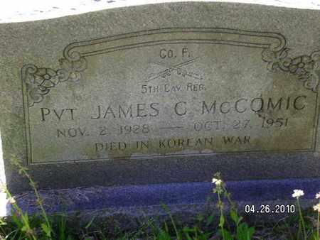 MCCOMIC, JAMES C (VETERAN KOR, KIA) - Sabine County, Louisiana | JAMES C (VETERAN KOR, KIA) MCCOMIC - Louisiana Gravestone Photos