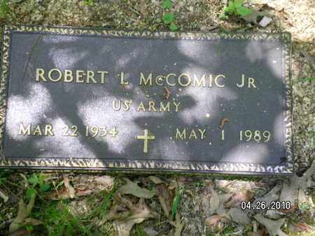 MCCOMIC, ROBERT L, JR (VETERAN) - Sabine County, Louisiana | ROBERT L, JR (VETERAN) MCCOMIC - Louisiana Gravestone Photos
