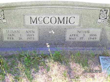 MCCOMIC, NOAH - Sabine County, Louisiana | NOAH MCCOMIC - Louisiana Gravestone Photos