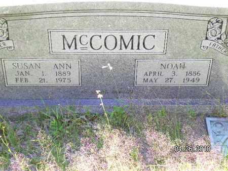 MCCOMIC, SUSAN ANN - Sabine County, Louisiana | SUSAN ANN MCCOMIC - Louisiana Gravestone Photos