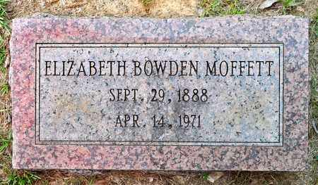 BOWDEN MOFFETT, ELIZABETH - Sabine County, Louisiana | ELIZABETH BOWDEN MOFFETT - Louisiana Gravestone Photos
