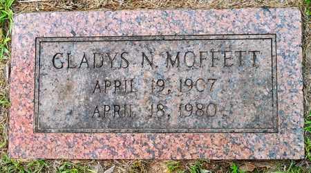 MOFFETT, GLADYS N - Sabine County, Louisiana | GLADYS N MOFFETT - Louisiana Gravestone Photos