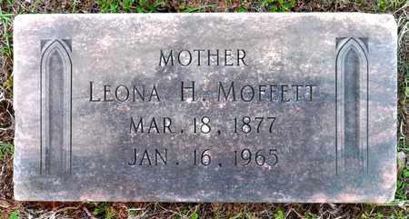 MOFFETT, LEONA H - Sabine County, Louisiana   LEONA H MOFFETT - Louisiana Gravestone Photos
