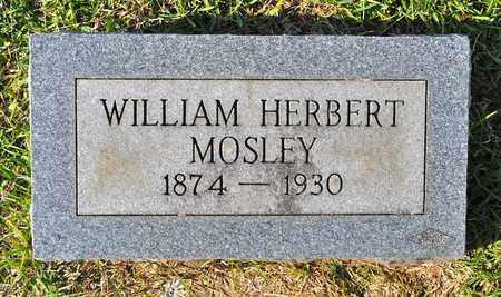 MOSLEY, WILLIAM HERBERT - Sabine County, Louisiana | WILLIAM HERBERT MOSLEY - Louisiana Gravestone Photos