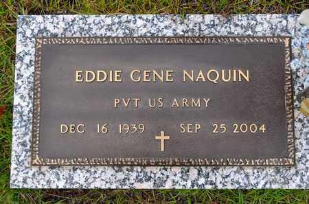 NAQUIN, EDDIE GENE (VETERAN) - Sabine County, Louisiana   EDDIE GENE (VETERAN) NAQUIN - Louisiana Gravestone Photos