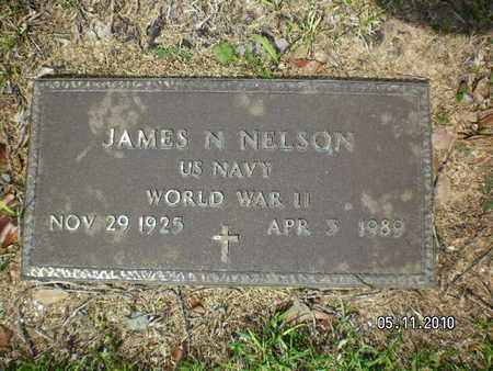 NELSON, JAMES N (VETERAN WWII) - Sabine County, Louisiana | JAMES N (VETERAN WWII) NELSON - Louisiana Gravestone Photos