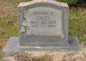 OXLEY, DERVIN E - Sabine County, Louisiana   DERVIN E OXLEY - Louisiana Gravestone Photos